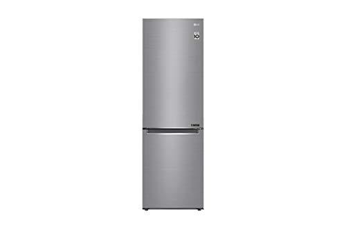 LG GBB61PZGFN Nevera y congelador Independiente Acero Inoxidable 341 L A+++ - Frigorífico (341 L,...