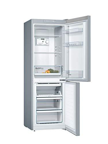 Bosch KGN33NL3A nevera y congelador Independiente Acero inoxidable 279 L A++ - Frigorífico (279 L,...