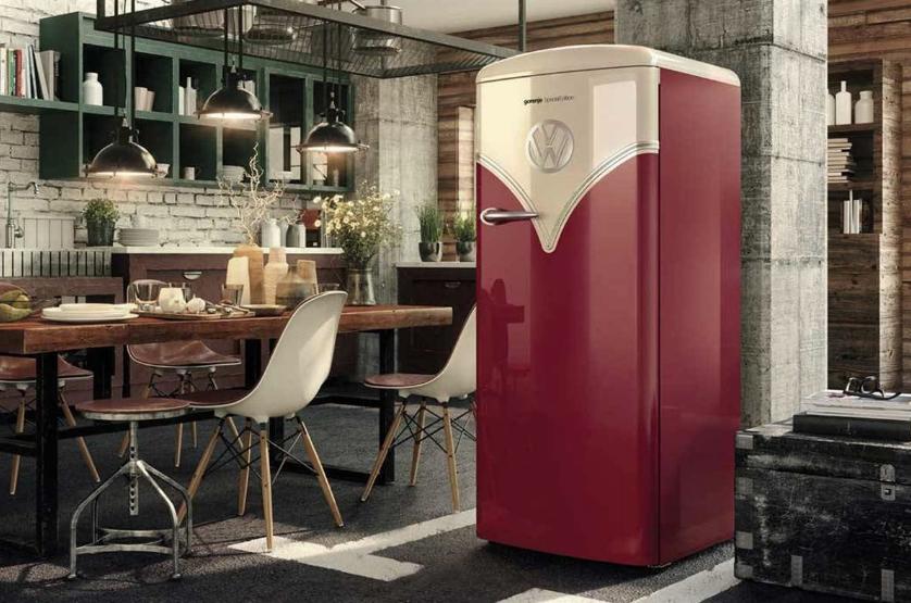 Los mejores frigoríficos vintage y retro para tu cocina